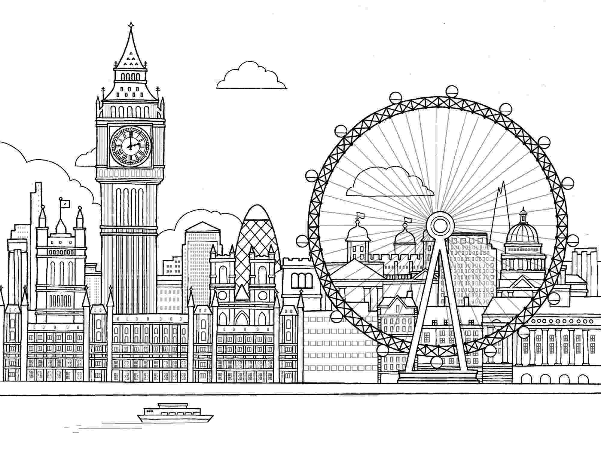 coloring book for adults london anti stress coloring pages london adults coloring book for london