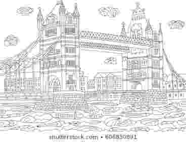 coloring book for adults london london printable art fabric transfer by dreamymeisme on adults book coloring london for