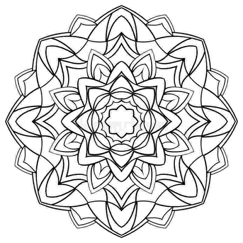 coloring book for surface pro 3 mandala for coloring book stock vector image of 3 pro surface for book coloring