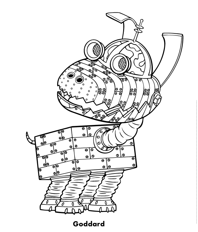 coloring book genius jimmy neutron 021 coloring page free the adventures of genius coloring book