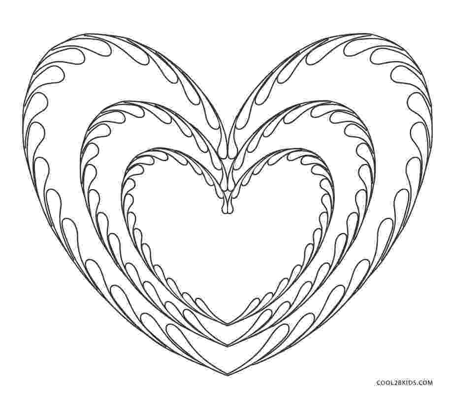 coloring book pictures of hearts free printable heart coloring pages for kids cool2bkids book hearts coloring pictures of