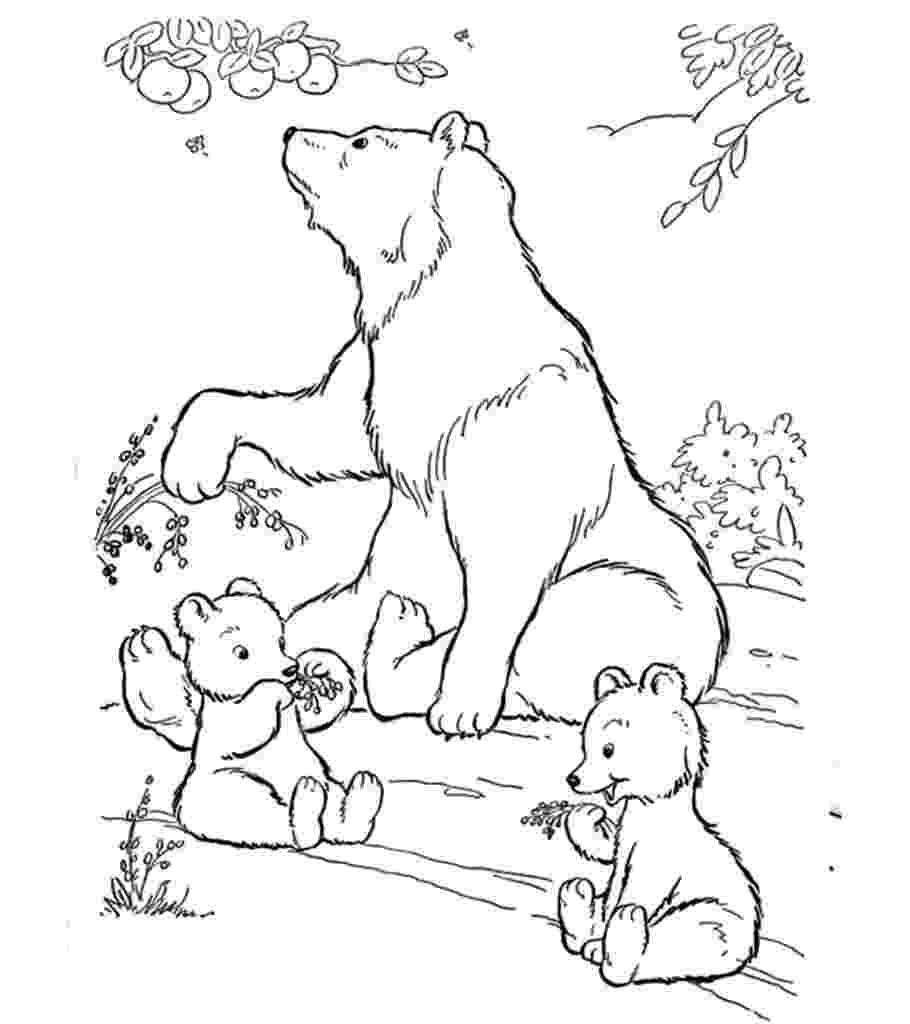 coloring book polar bear free printable polar bear coloring pages for kids polar book coloring bear