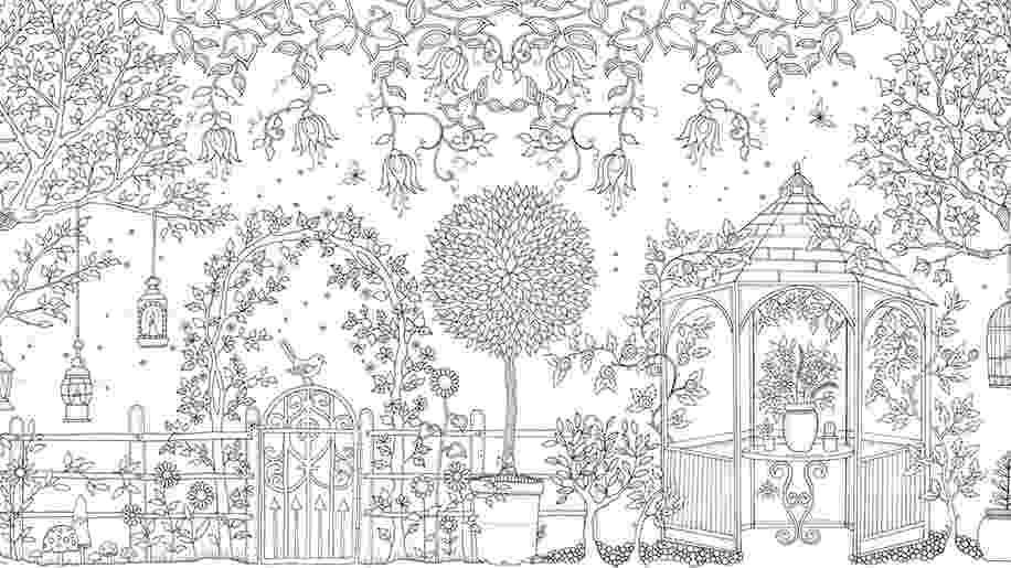 coloring books for adults secret garden johanna basford heart gallery blog garden coloring books for adults secret