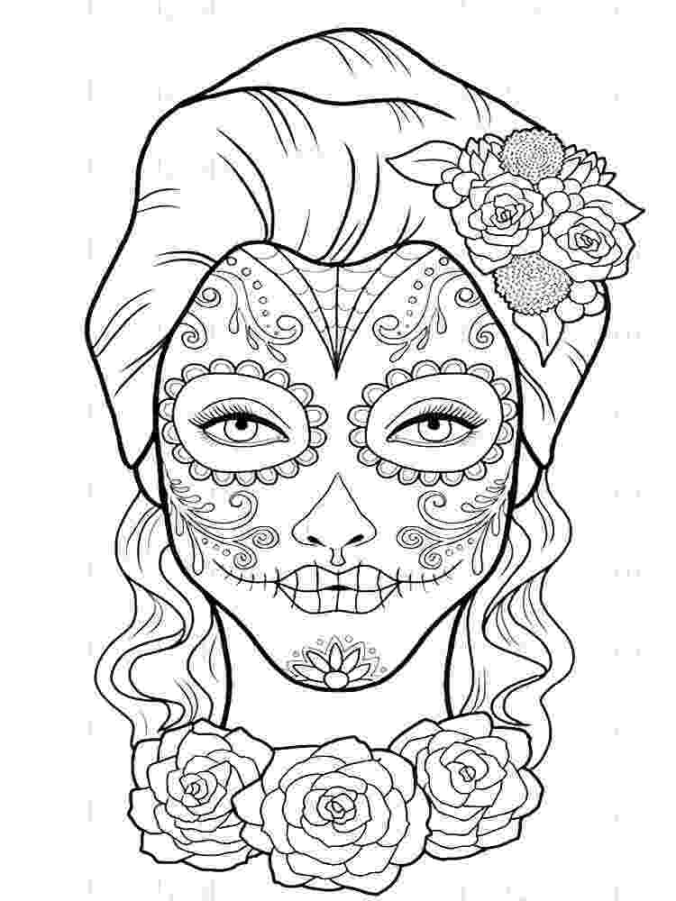 coloring books for grown ups dia de los muertos 108 best day of the dead coloring images coloring pages dia de for muertos books ups coloring los grown