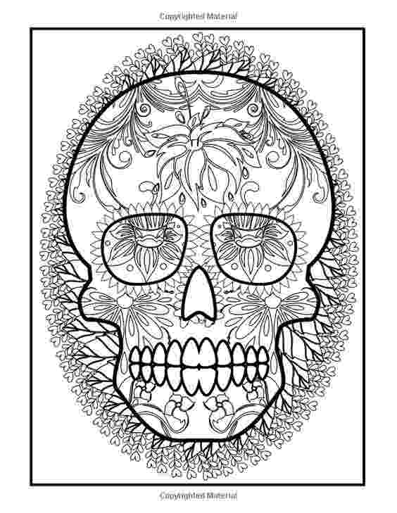 coloring books for grown ups dia de los muertos amazoncom coloring books for grown ups dia de los books muertos grown ups de los for dia coloring