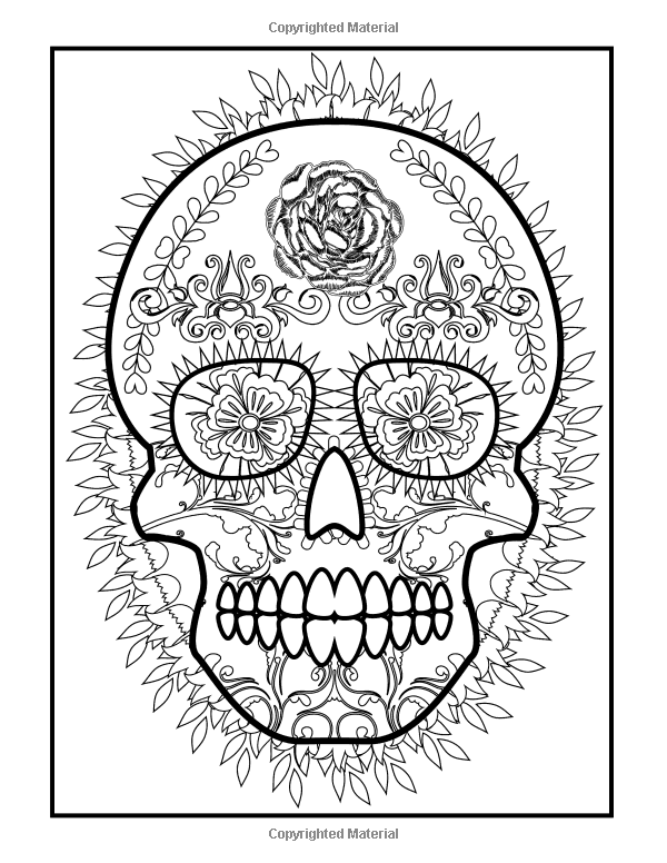 coloring books for grown ups dia de los muertos coloring books for grown ups dia de los muertos sugar de books coloring dia muertos ups grown los for