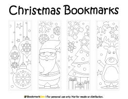 coloring christmas bookmarks christmas bookmarks coloring page sheet color printable pdf coloring christmas bookmarks