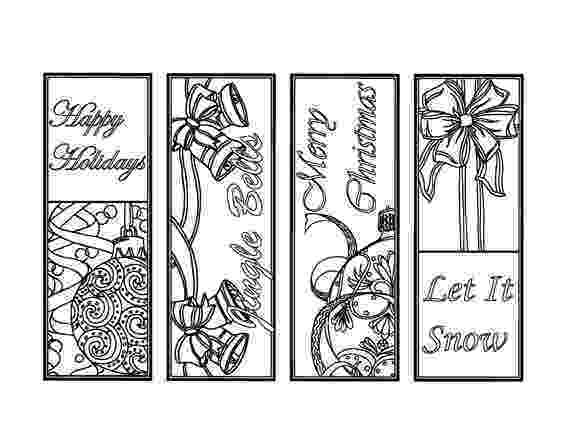 coloring christmas bookmarks merry christmas coloring bookmarks by journeys in coloring christmas bookmarks