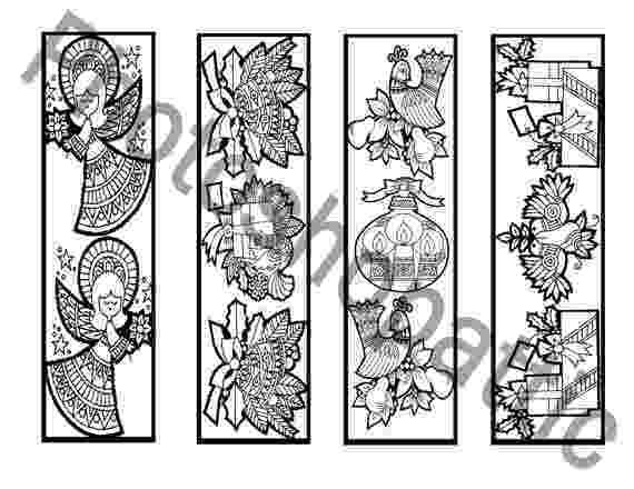 coloring christmas bookmarks three christmas coloring bookmarks bookmarks kids bookmarks coloring christmas