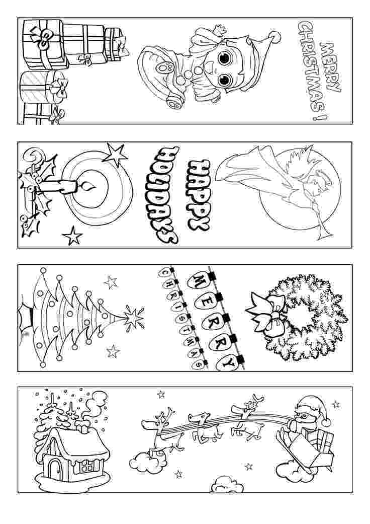 coloring christmas bookmarks winter bookmarks freebie bookmarks coloring pages coloring christmas bookmarks