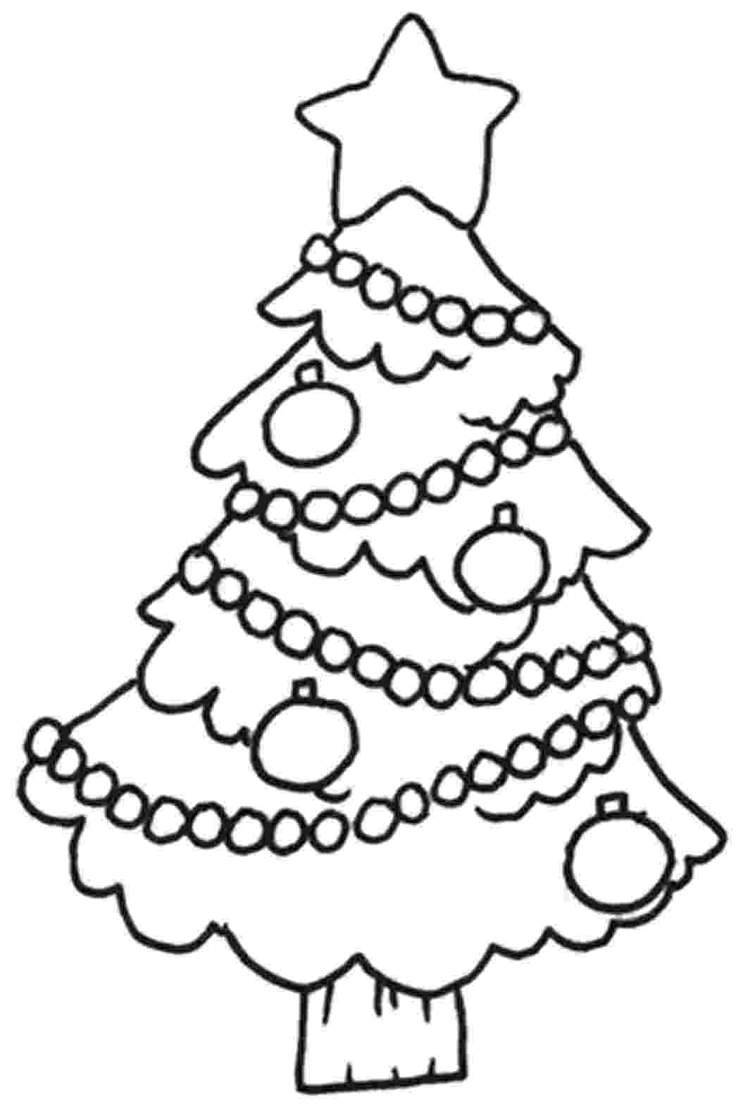 coloring christmas tree christmas decorated christmas tree coloring page christmas coloring tree