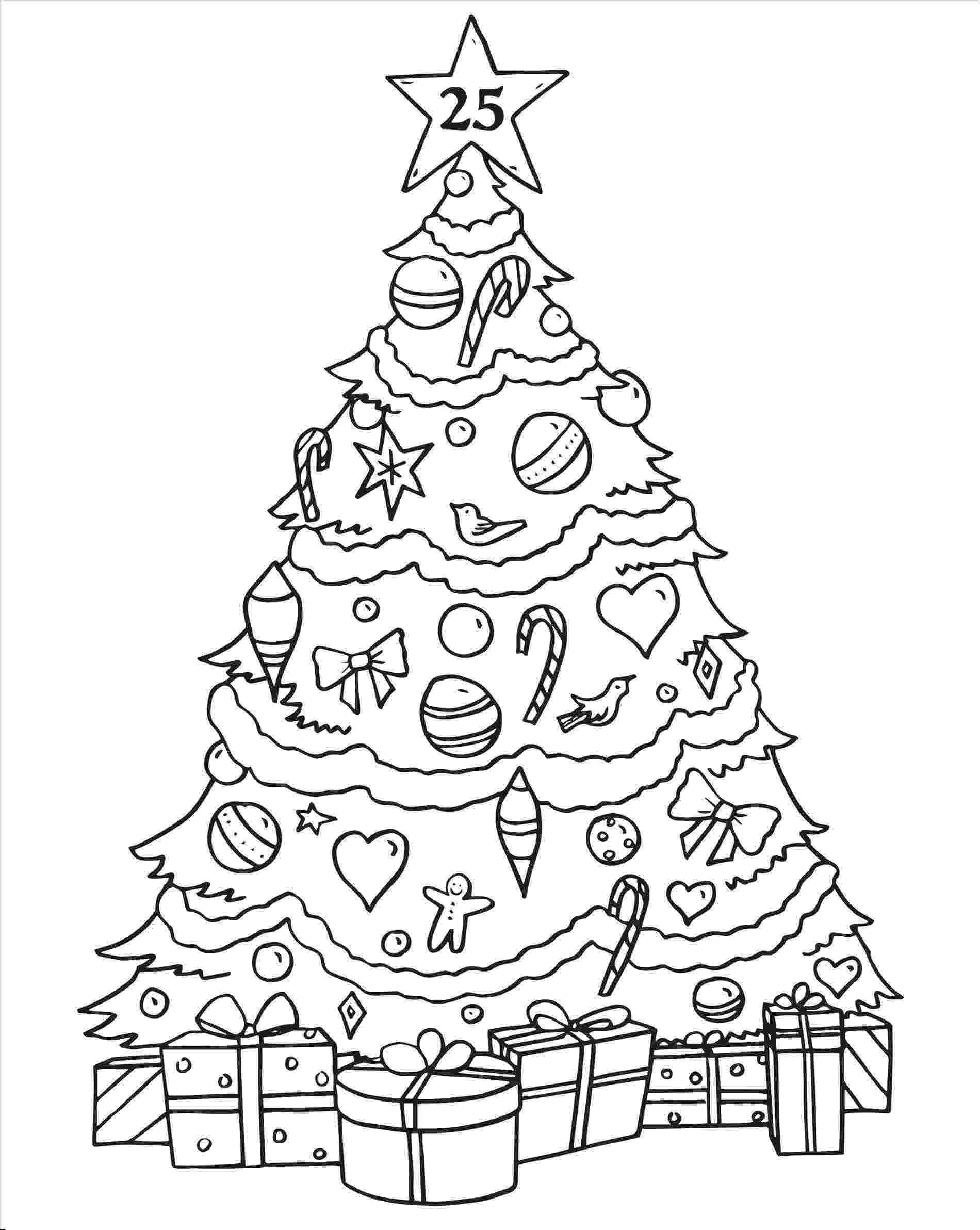 coloring christmas tree christmas tree coloring pages coloring pages to print tree christmas coloring