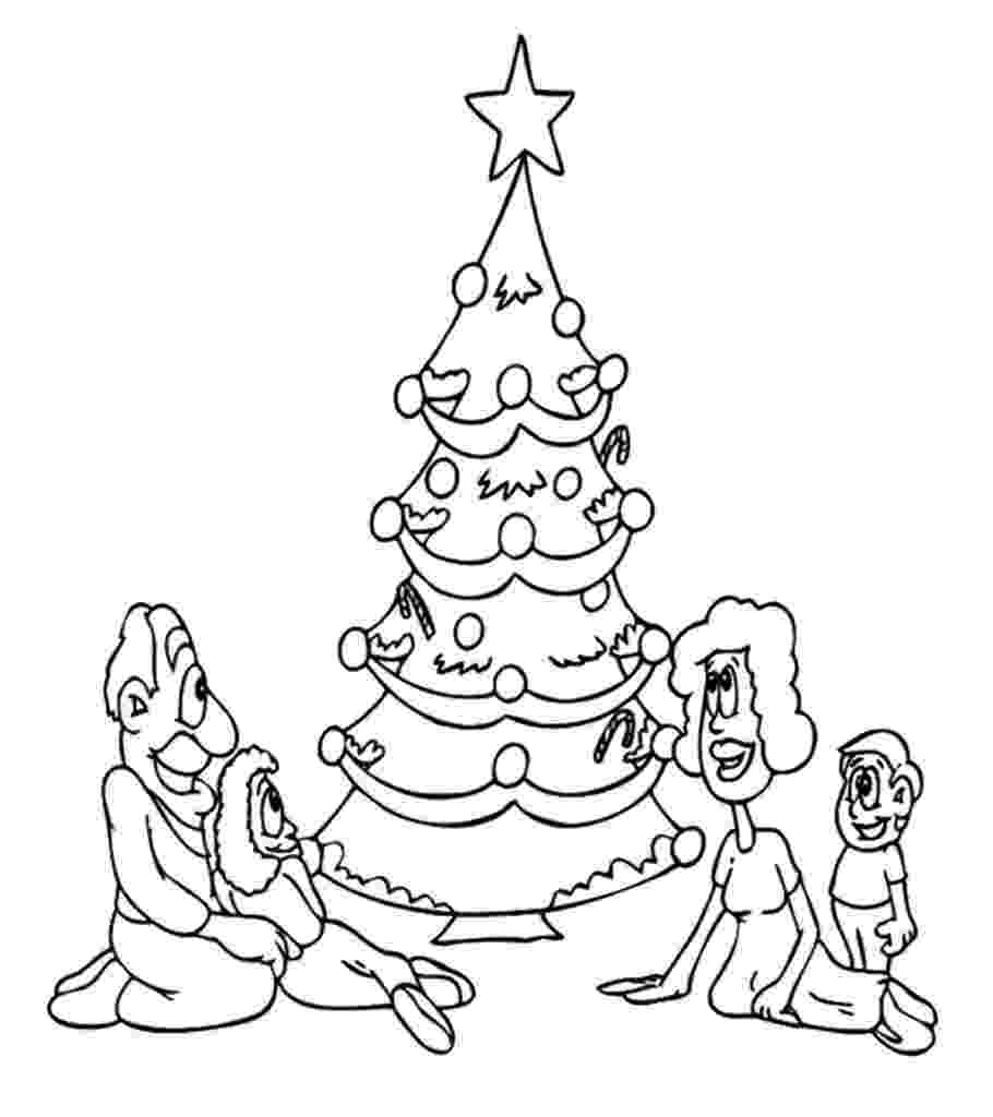 coloring christmas tree christmas tree with presents coloring page coloring home christmas tree coloring