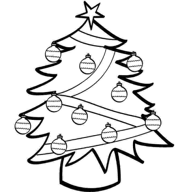 coloring christmas tree free printable christmas tree coloring pages for kids coloring christmas tree