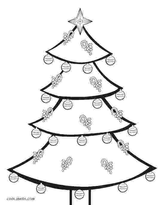 coloring christmas tree printable christmas tree coloring pages for kids cool2bkids coloring christmas tree