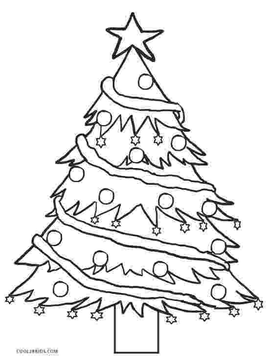 coloring christmas tree printable paper christmas tree template and clip art christmas tree coloring