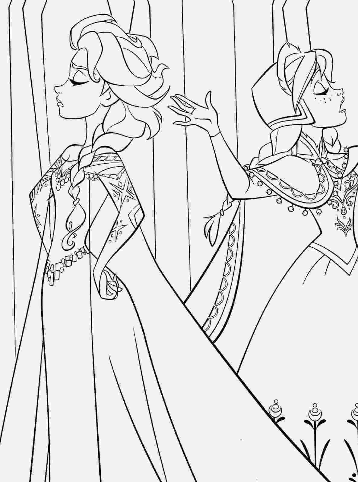 coloring frozen free printable frozen coloring pages for kids best coloring frozen 1 5