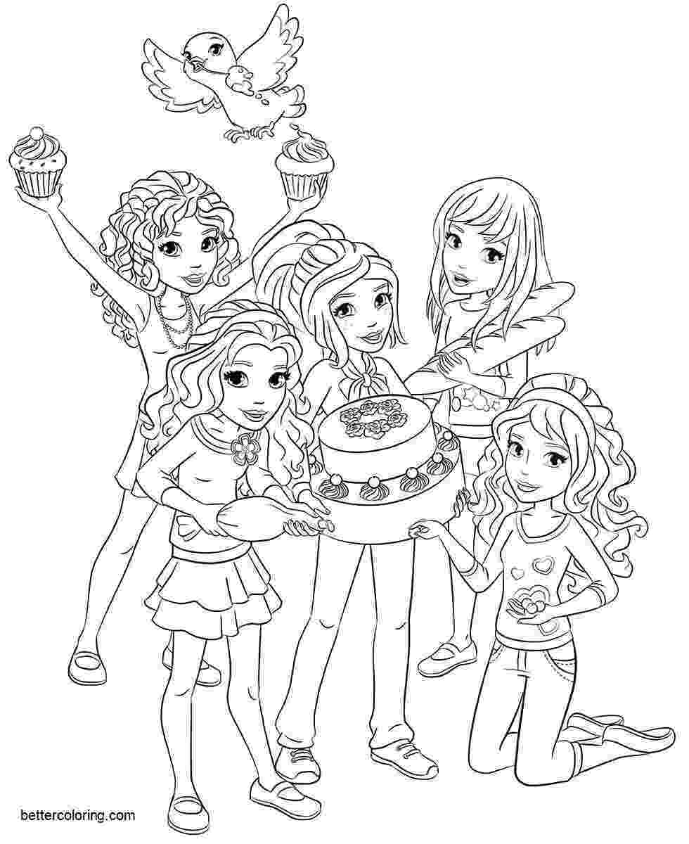 coloring lego friends lego friends coloring pages pets free printable coloring lego friends coloring