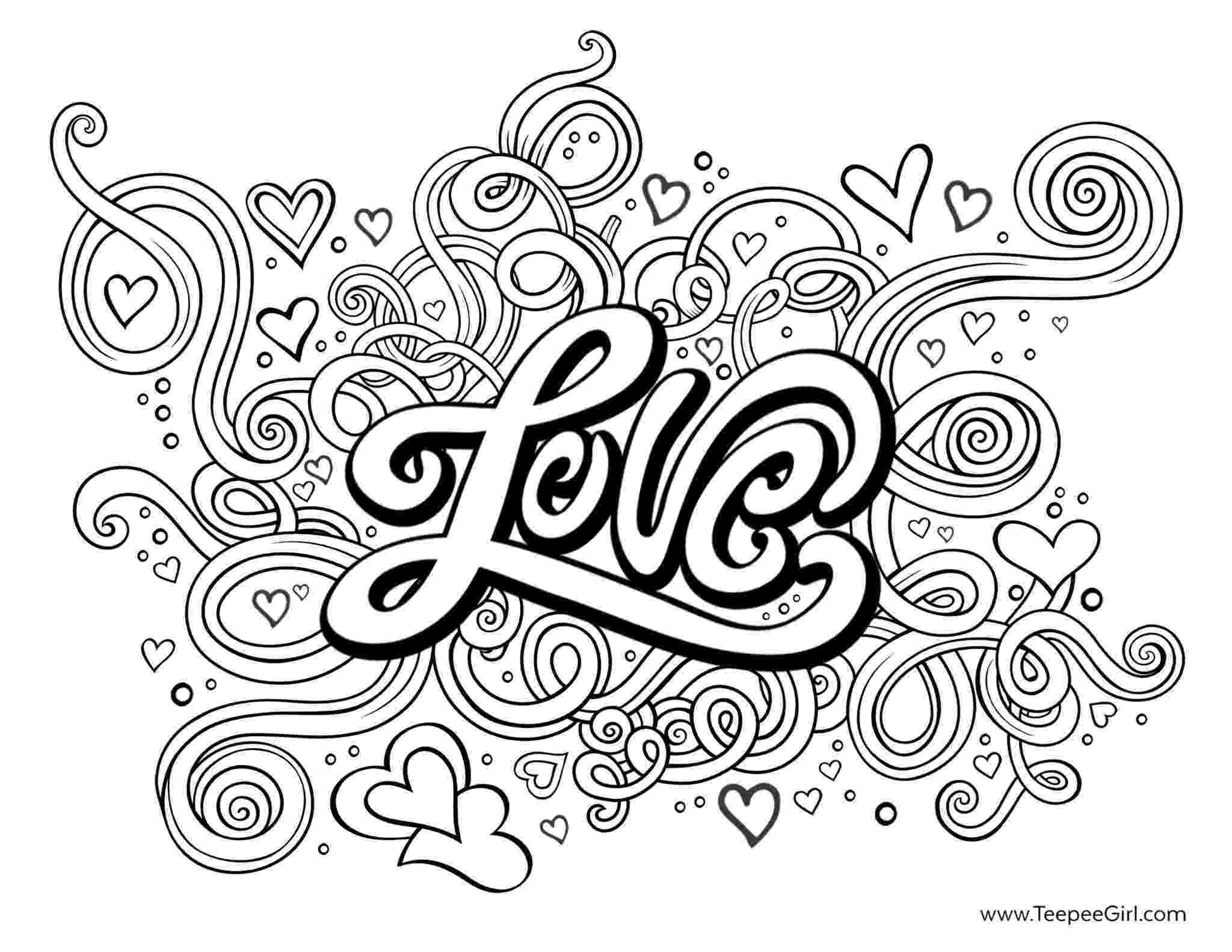 coloring love pictures month of love love coloring pictures