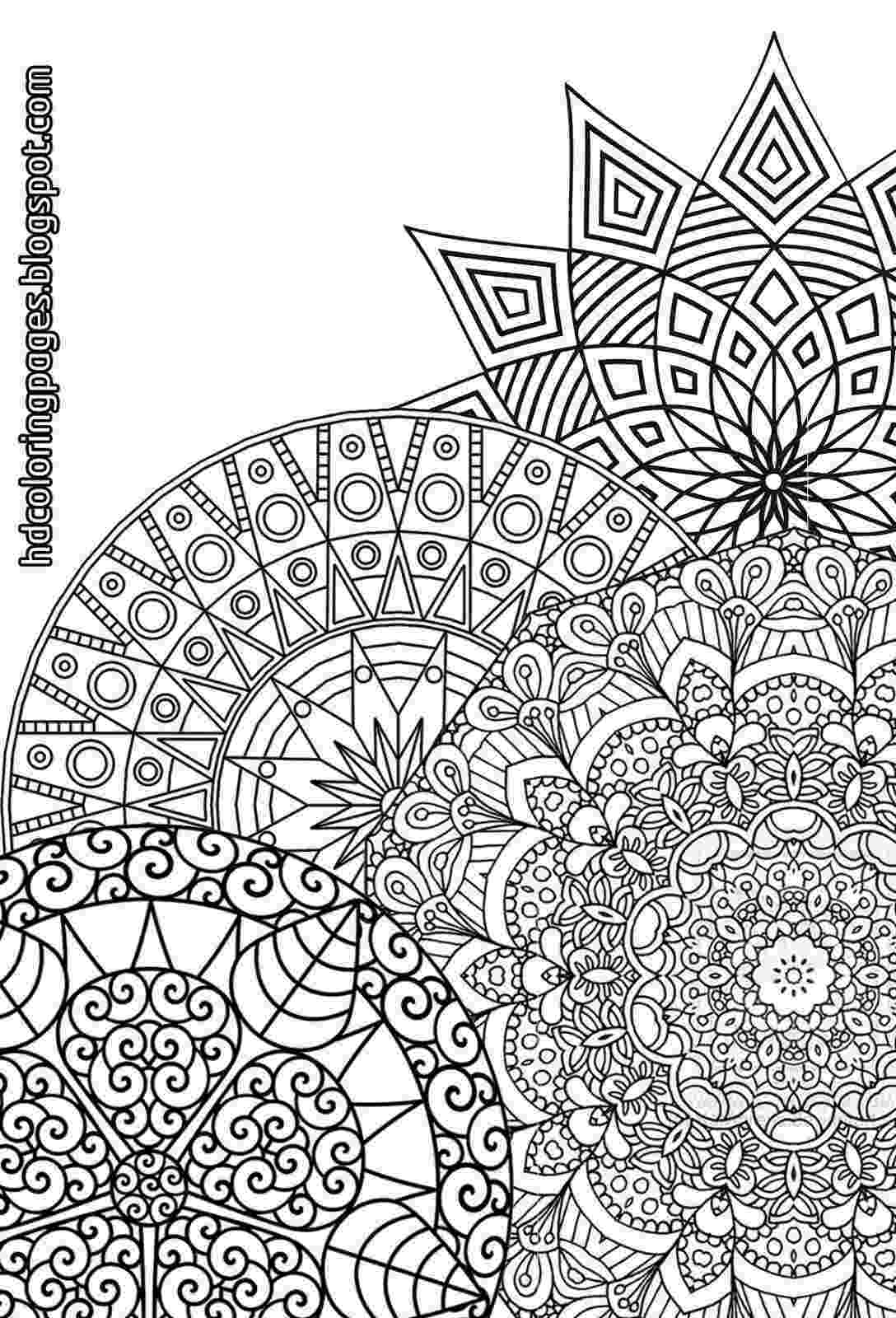 coloring mandalas for adults super detailed mandalas coloring pages for adult adults mandalas for coloring
