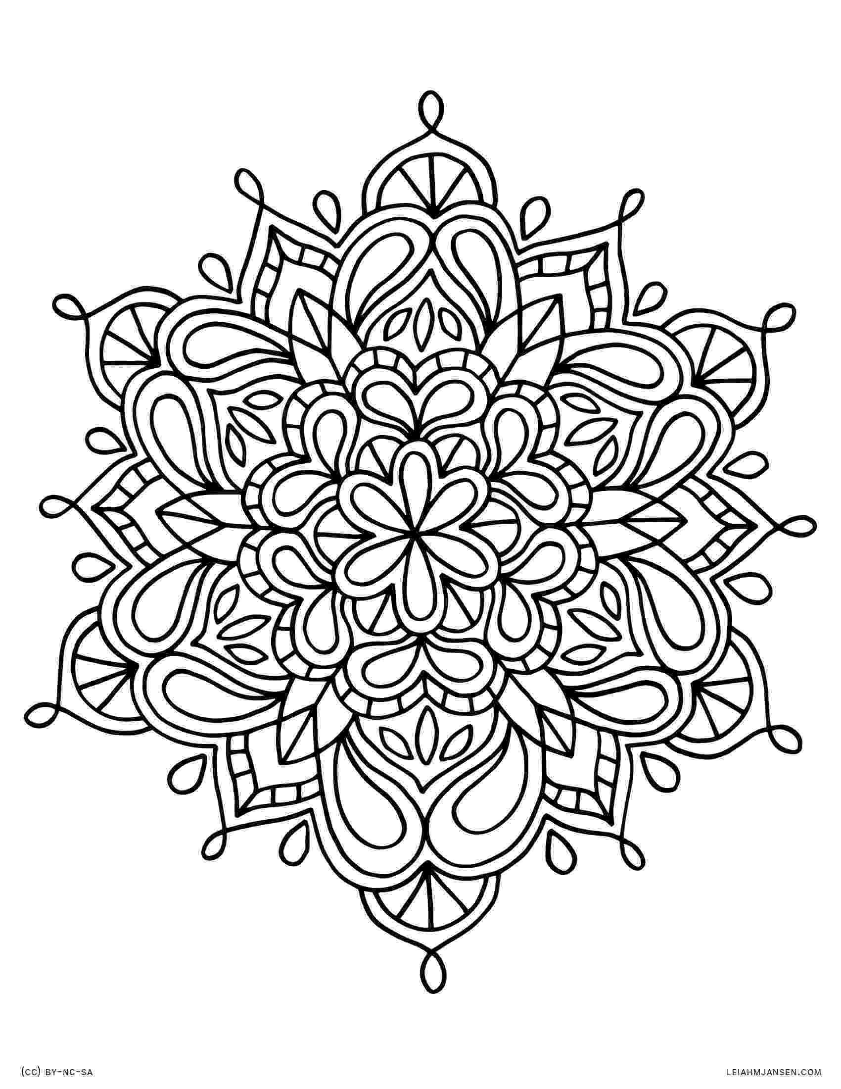 coloring mandalas for adults these printable abstract coloring pages relieve stress and for mandalas coloring adults