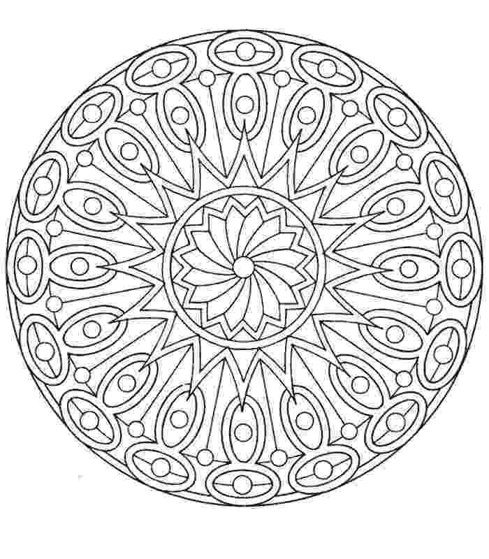 coloring mandalas free printable easy mandala coloring page getcoloringpagescom free printable mandalas coloring