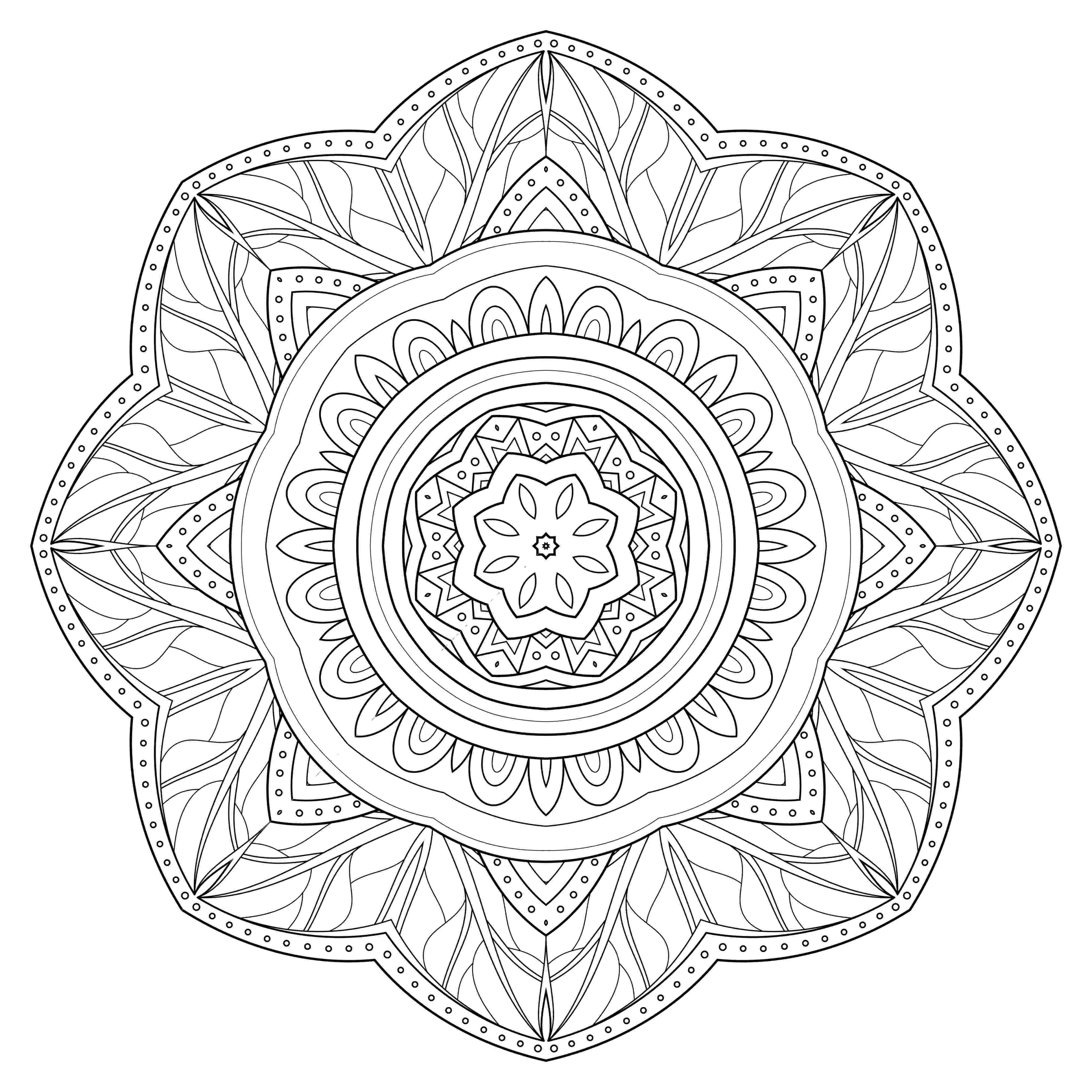 coloring mandalas free printable mandala coloring pages for kids to download and print for free printable coloring mandalas free