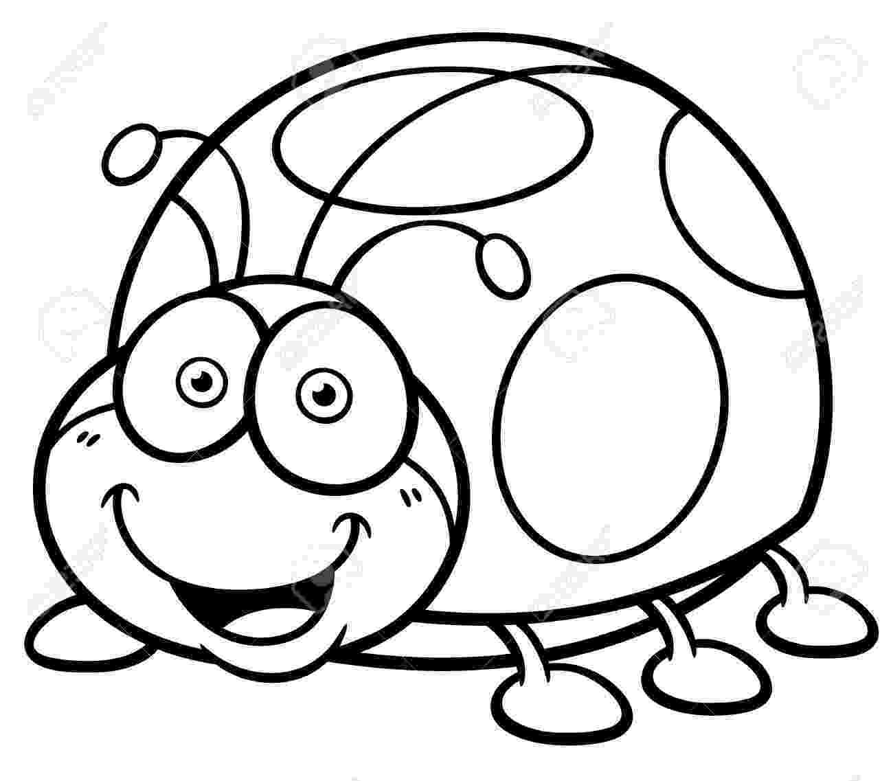 coloring page ladybug cute cartoon ladybug coloring page free printable ladybug coloring page