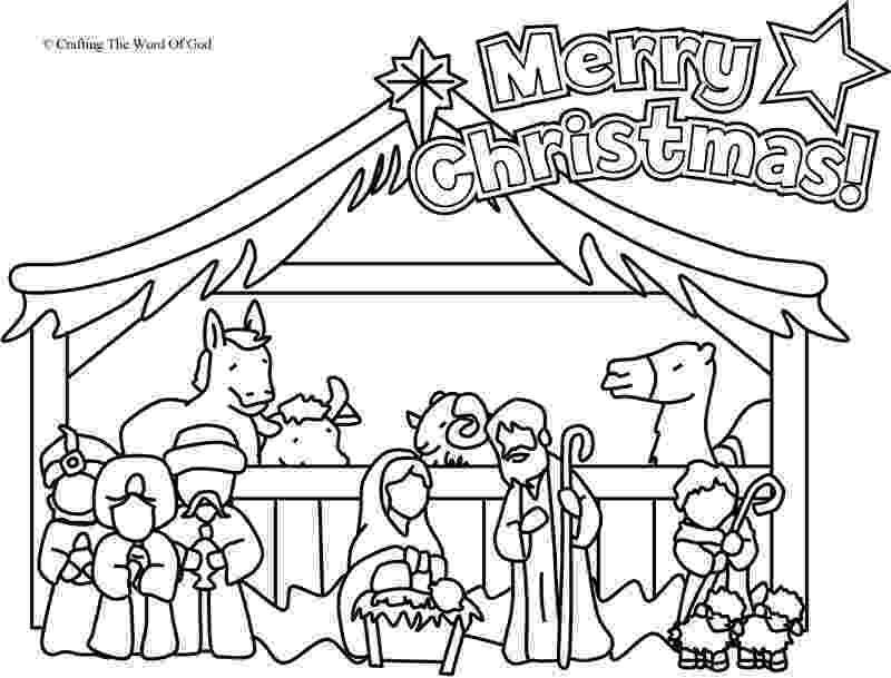 coloring page nativity scene free printable nativity coloring pages for kids coloring page scene nativity