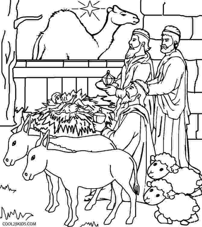 coloring page nativity scene free printable nativity coloring pages for kids nativity scene coloring page