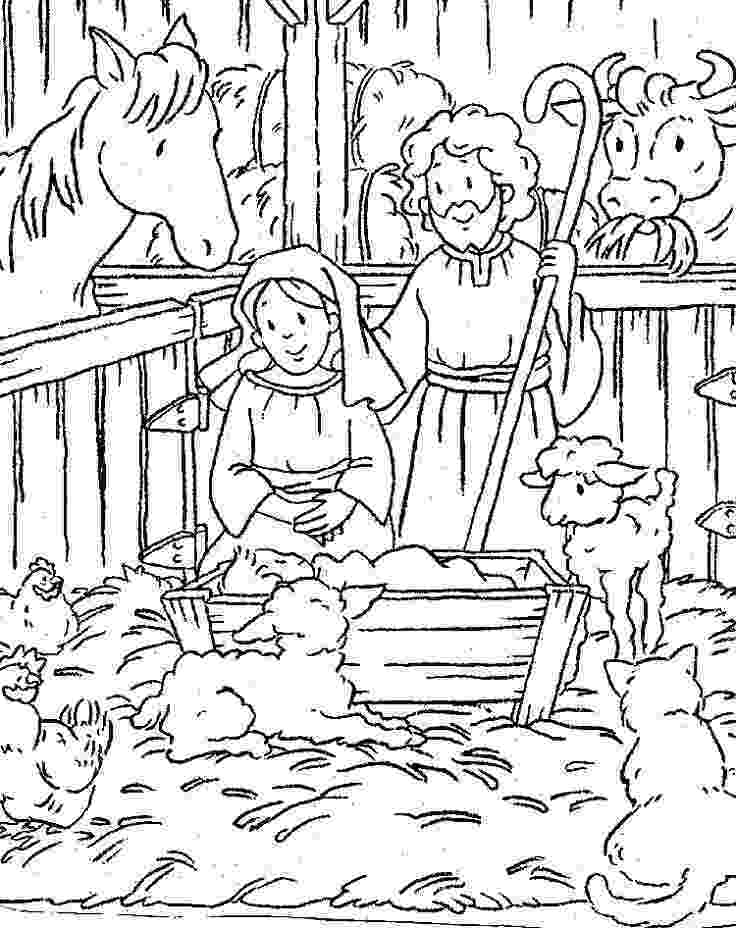 coloring page nativity scene free printable nativity scene coloring pages nativity page scene nativity coloring