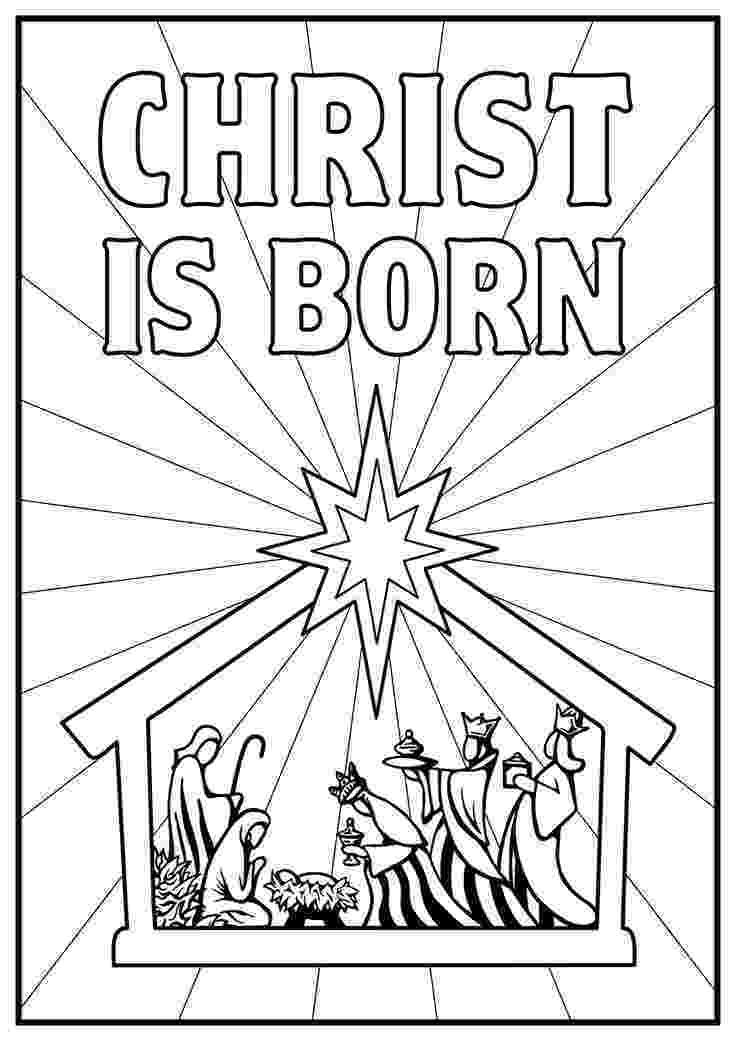 coloring page nativity scene nativity coloring pages getcoloringpagescom page coloring nativity scene