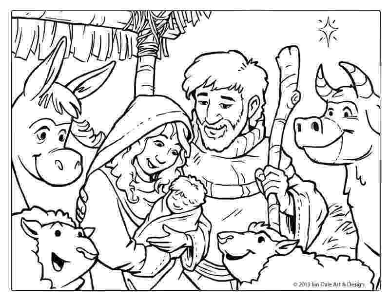 coloring page nativity scene printable christmas coloring book pages christmas wishes coloring nativity scene page