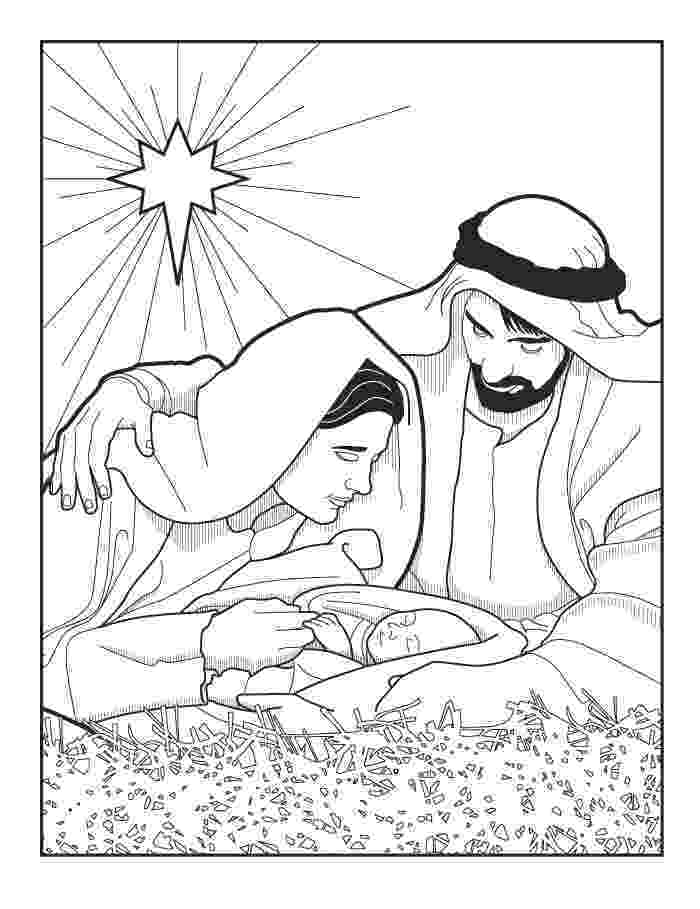 coloring page nativity scene xmas coloring pages page scene nativity coloring