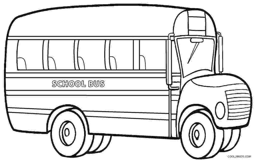 coloring page of a school bus printable school bus coloring page for kids cool2bkids bus coloring a school of page