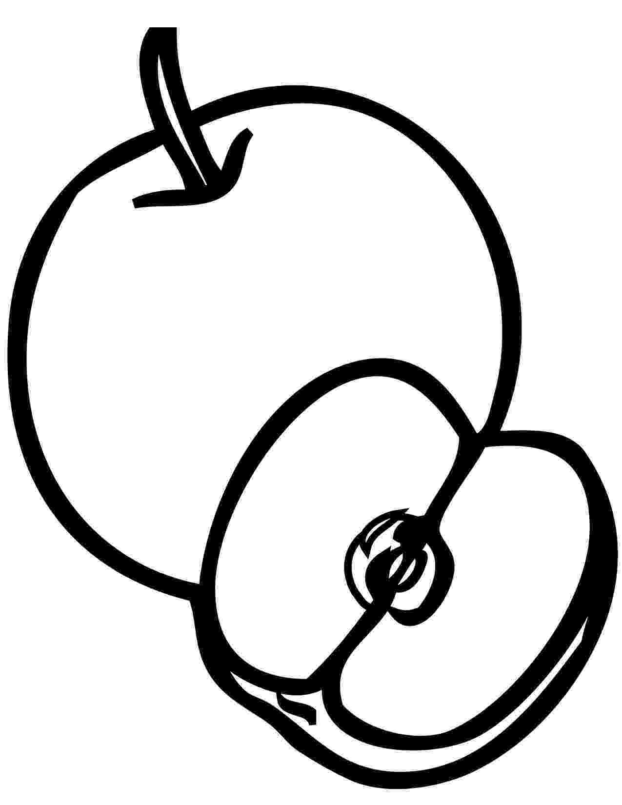 coloring page of an apple apple coloring pages the sun flower pages coloring page apple an of