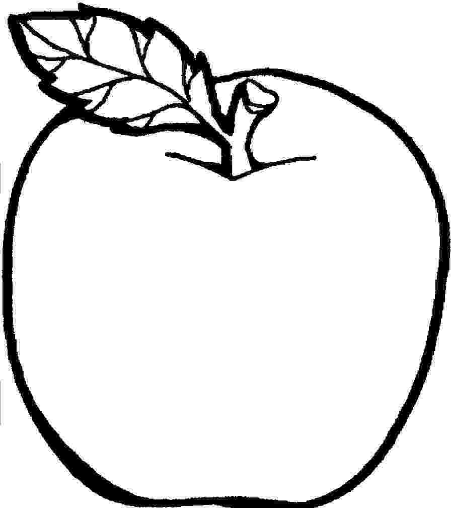 coloring page of an apple free printable apple coloring pages for kids apple coloring page of an