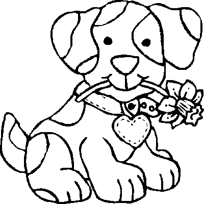 coloring page of dog cute dog animal coloring pages books for print coloring of page dog