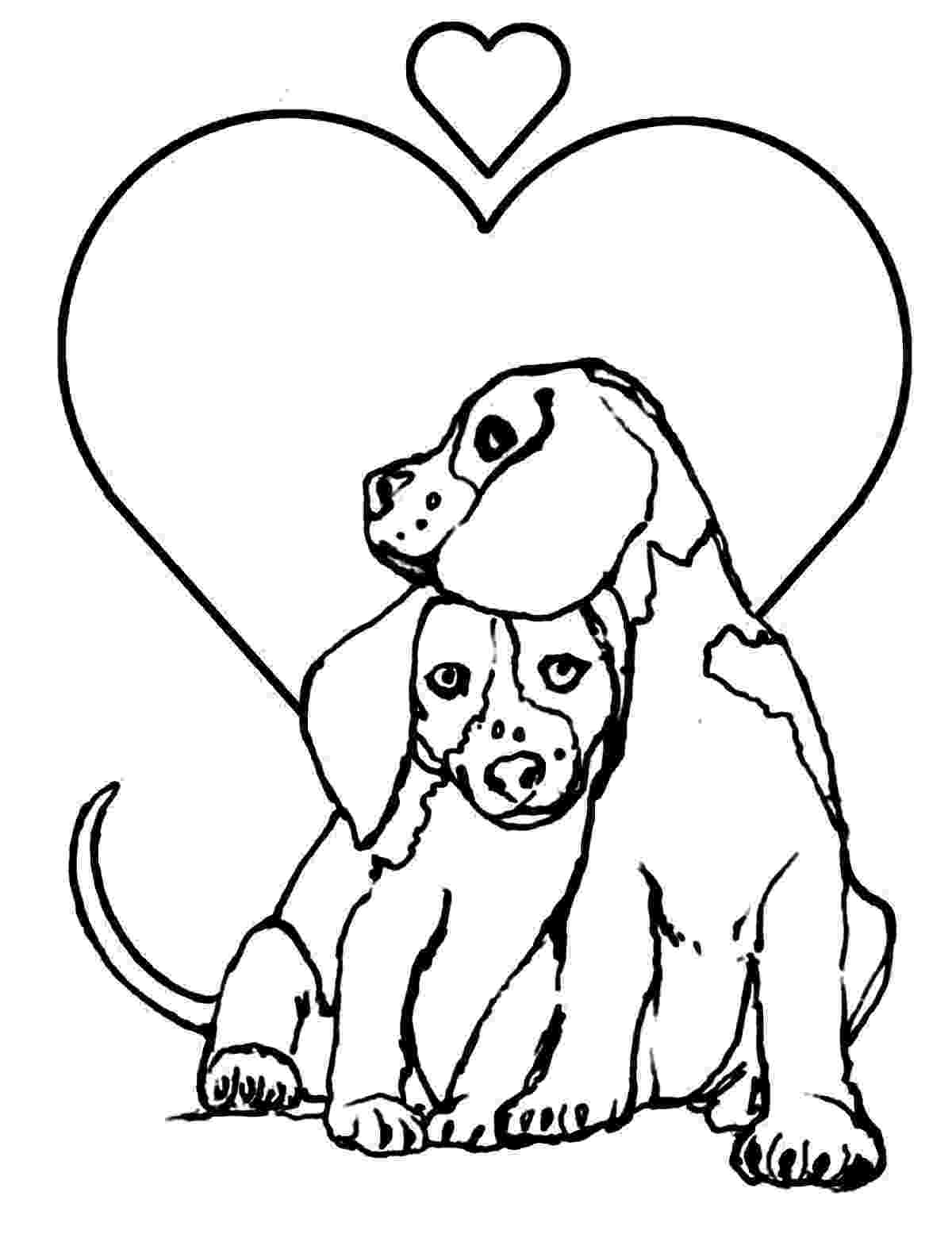 coloring page of dog free printable dog coloring pages for kids of page coloring dog 1 1