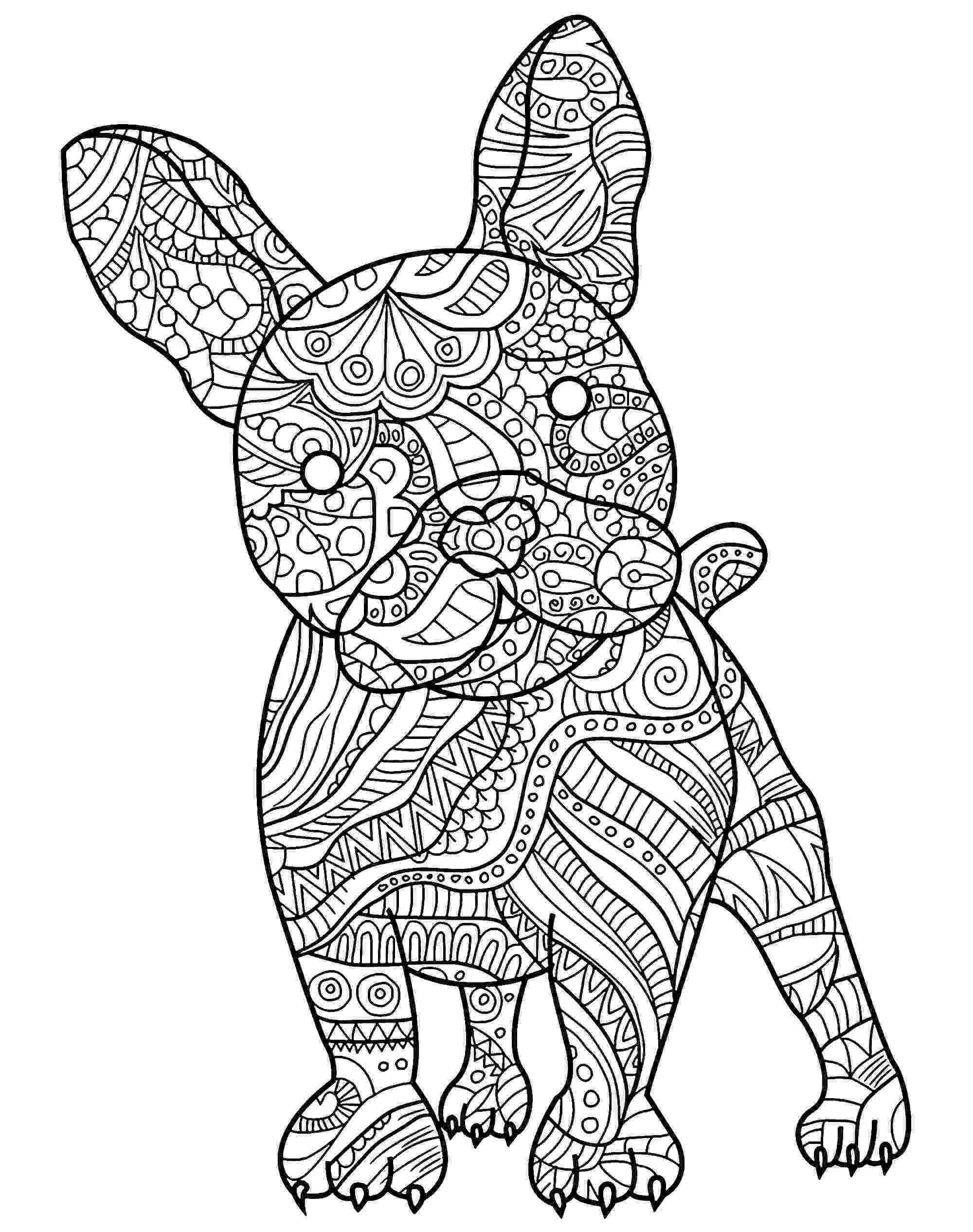 coloring page of dog free printable dog coloring pages for kids page dog coloring of 1 1
