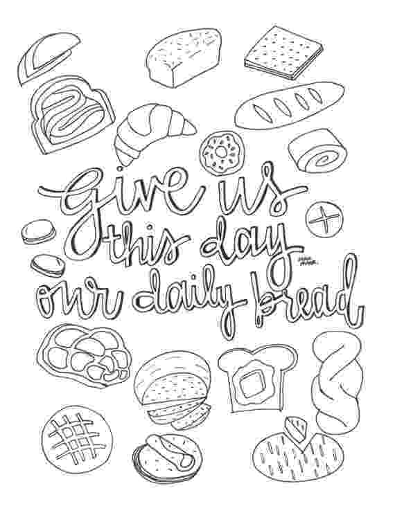coloring pages bread 10 yummy bread coloring pages for your little one pages coloring bread