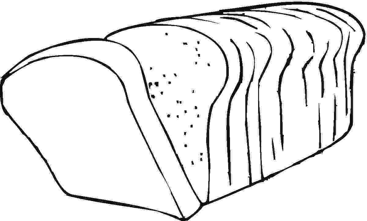 coloring pages bread bread colouring pages clipart best bread pages coloring