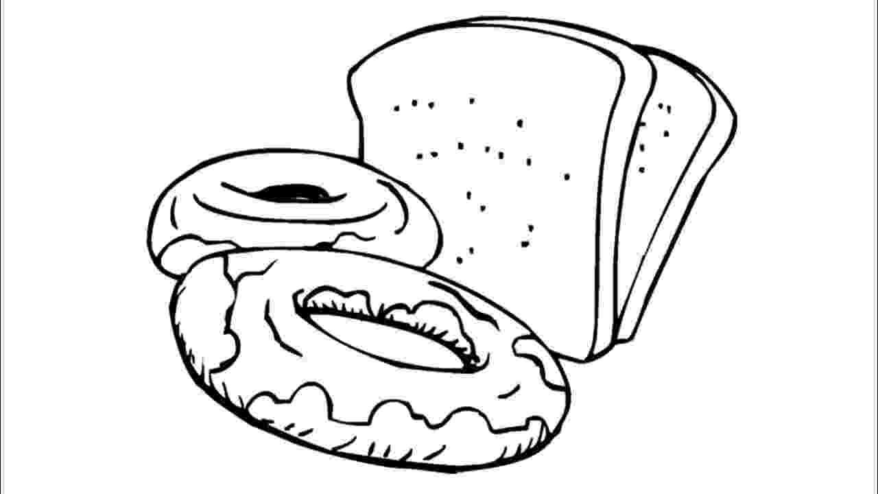 coloring pages bread breads coloring page coloring pages bread