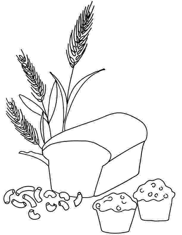 coloring pages bread homemade bread coloring sheet bread coloring pages