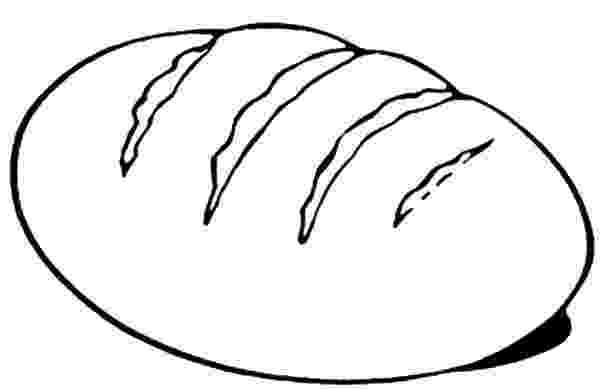 coloring pages bread loaf of bread coloring page coloringcrewcom pages coloring bread