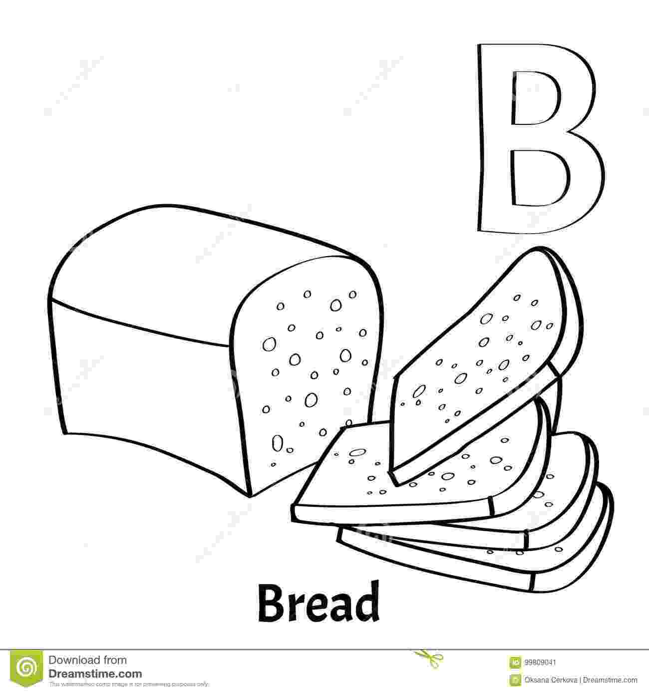 coloring pages bread slice of bread coloring page cookie pinterest color bread coloring pages