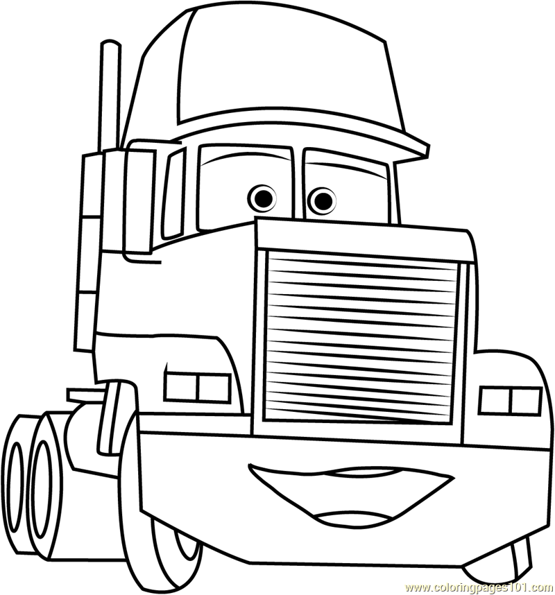 coloring pages cars mack download and print coloring pages for mack the truck mack coloring pages cars