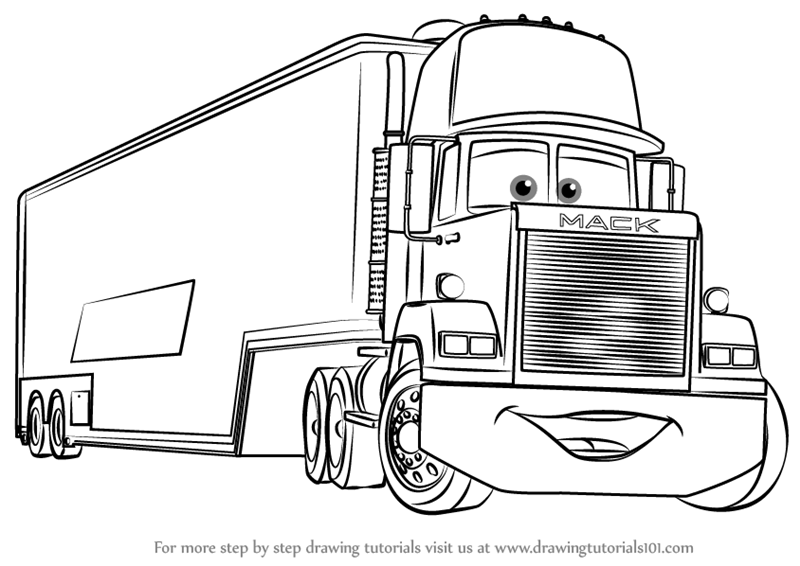 coloring pages cars mack free printable lightning mcqueen coloring pages for kids mack cars coloring pages