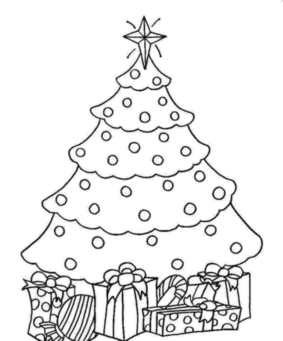 coloring pages christmas tree decorate your christmas trees coloring pages color luna christmas pages tree coloring