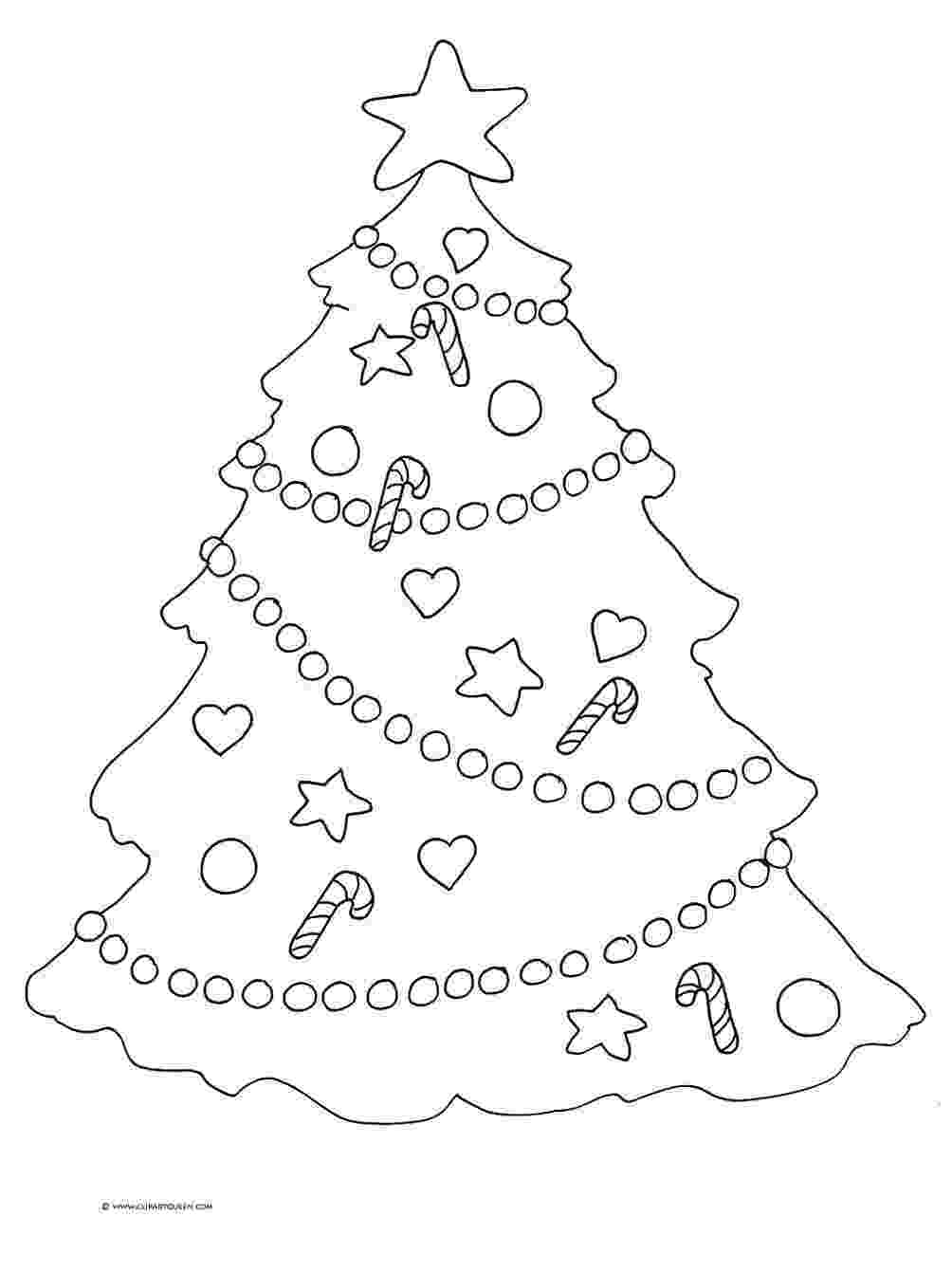 coloring pages christmas tree pictures to colour in christmas fun whychristmascom pages coloring tree christmas